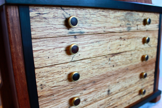 closeup drawers