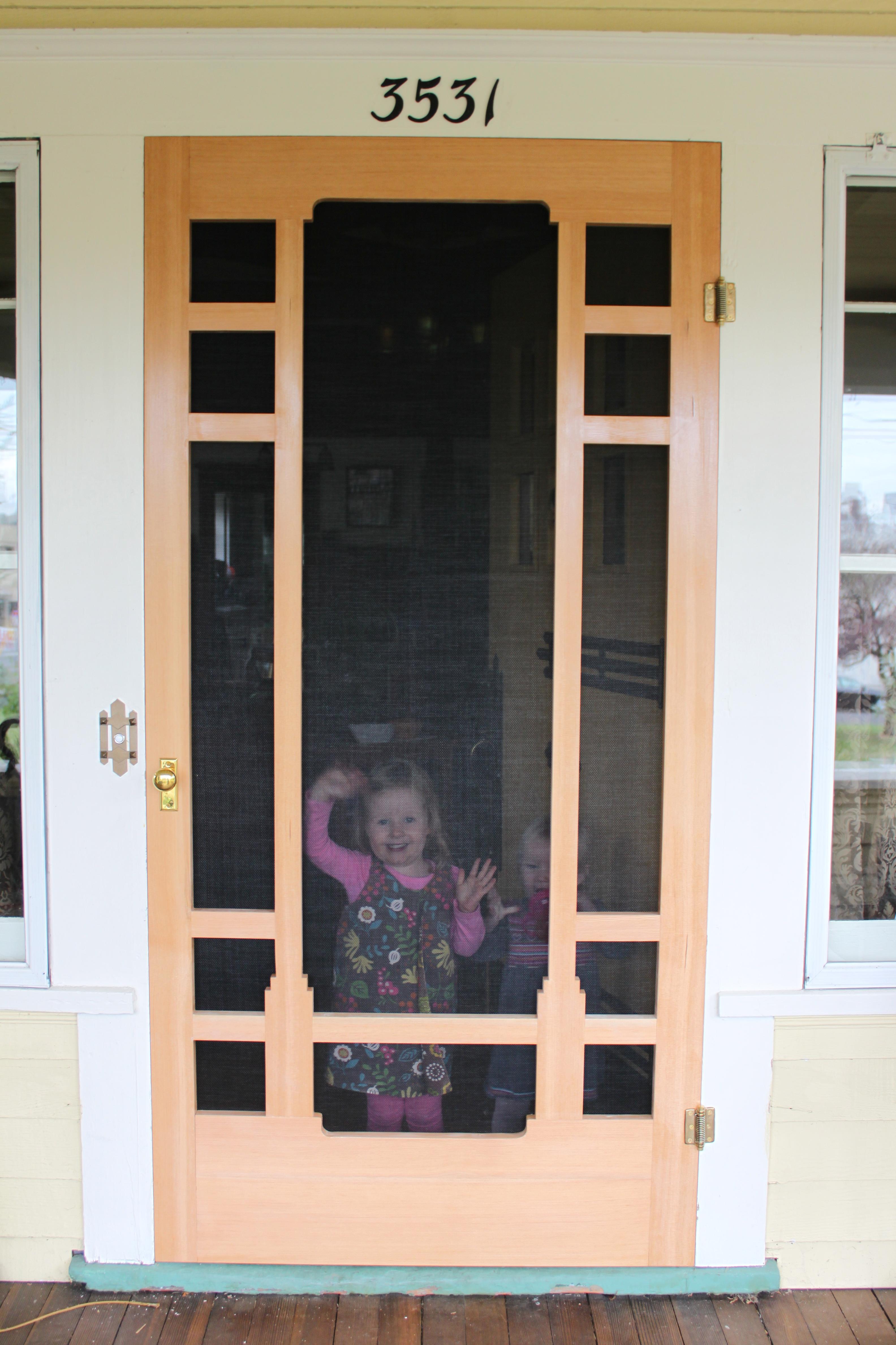 Craftsman Screen Door Plans