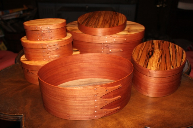 shaker oval boxes sizes 1 - 6