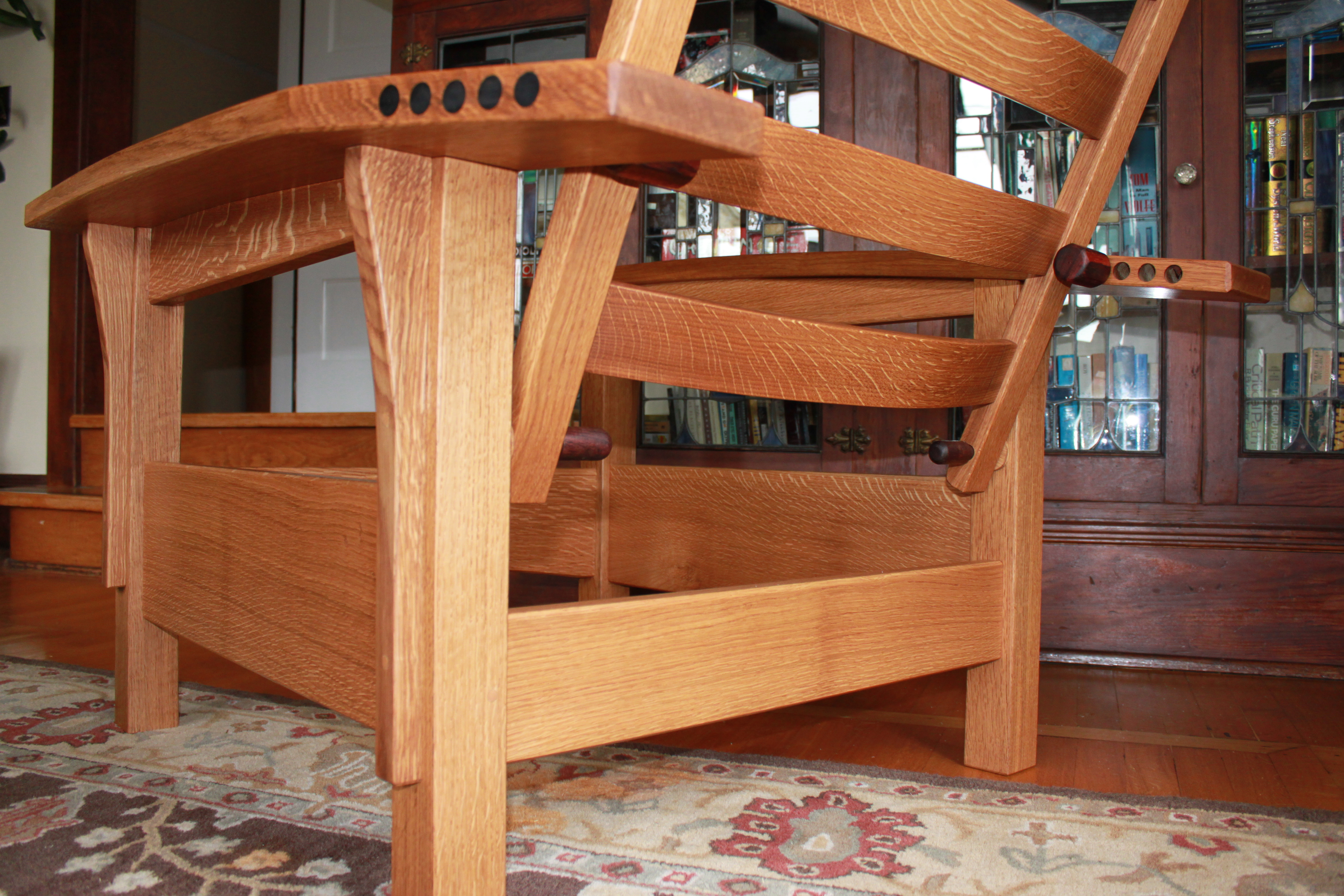 IMG_2381 & Bow-arm Morris Chair | Handmade by Hickey
