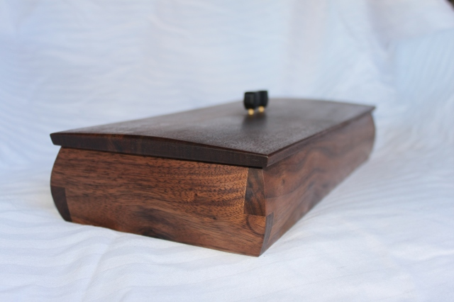 Walnut and ebony with Ipe dividers- $100